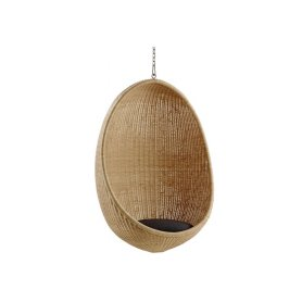 Muna rottinki riipputuoli - Hanging Egg Chair