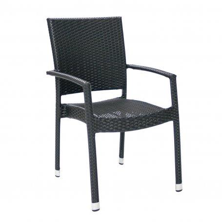 Musta polyrottinkinen tuoli Whistler S