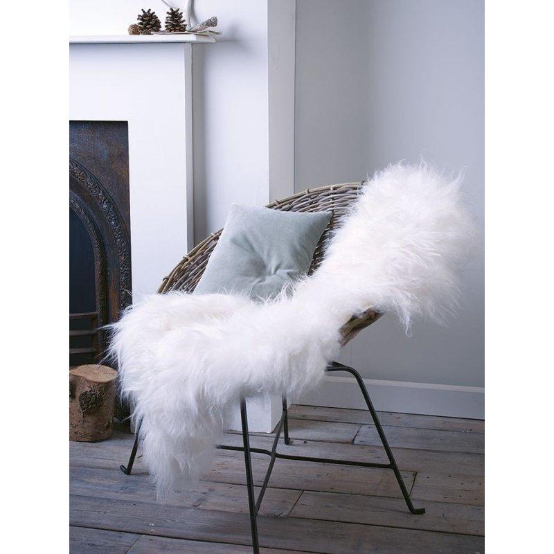 Valkoinen lampaantalja, Icelandic, M koko  Rottinkishop fi