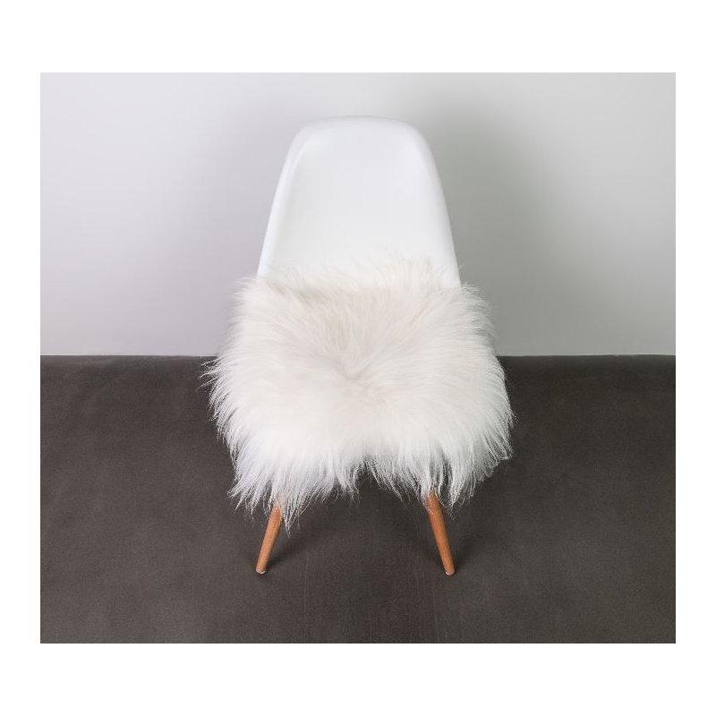 Istuinpehmuste 37 cm lampaantalja Icelandic valkoinen