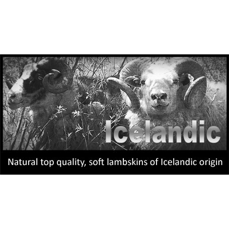 Istuinpehmuste lampaantalja Icelandic valkoinen
