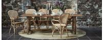 Rottinki on hyvä ja kevyt tuolien valmistusmateriaali. Rottinkituolit ovat kestäviä ja mukavia istua.