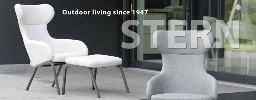 STERN -ulkokalusteissa yhdistyy laatu ja tyyli. Saksalaiset säänkestävät Designkalusteet pihalle ja puutarhaan